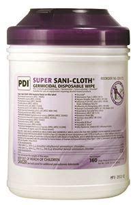 Sani Pad Caribbean Detox by Professional Site Sani Cloth 55 Pct Alc Large