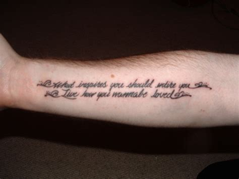 inspirational tattoo quotes for men 25 meaningful tattoos for which are inspirational