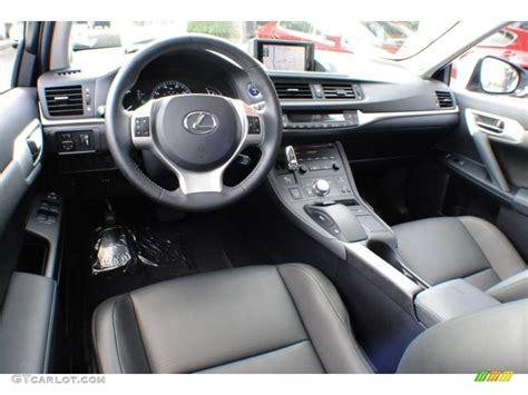 lexus hybrid ct200h interior black interior 2012 lexus ct 200h hybrid premium photo
