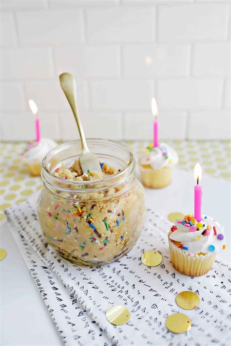 Butter Birthday Cake 1 birthday cake cookie butter a beautiful mess