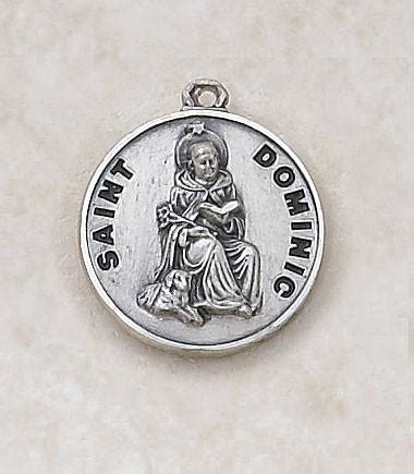 Cr Qq180 Medal Discount Shipping - st dominic sterling silver medal discount catholic store