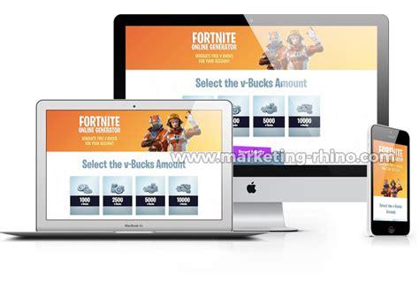 fortnite account generator fortnite generator cpa marketing landing page