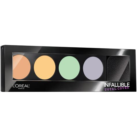 L Oreal Infallible l oreal infallible concealer color correcting palette