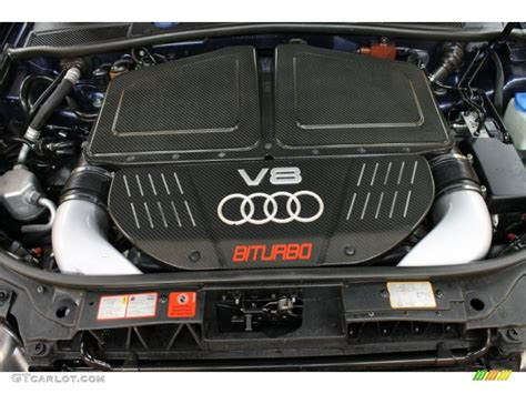 Audi Rs6 Motor by 2003 Audi Rs6 4 2t Quattro 4 2 Liter Turbocharged