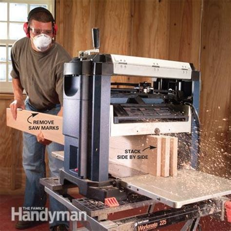 bench top planer  family handyman