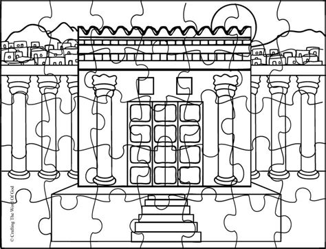 at the temple coloring pages solomon builds the temple coloring page coloring home