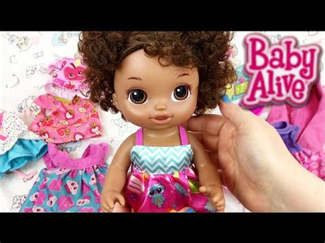 Murah Baby Alive Ready For School Baby Doll baby alive ready for school doll name reveal and help preschool clothes changing