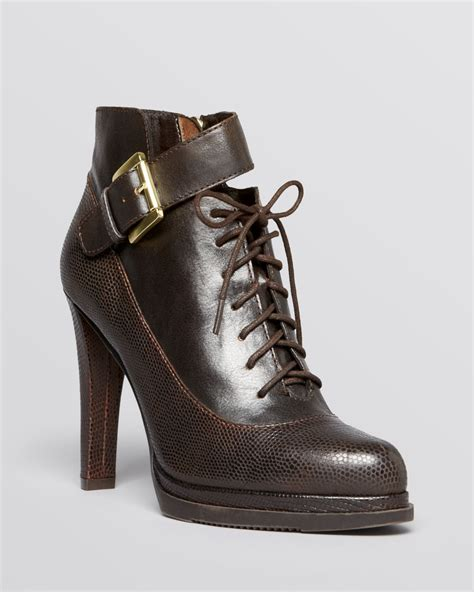 lace up high heel booties connection lace up platform booties high