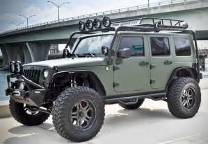 Army Green Jeep Wrangler Green Jeep Wrangler By Cec Wheels Hiconsumption