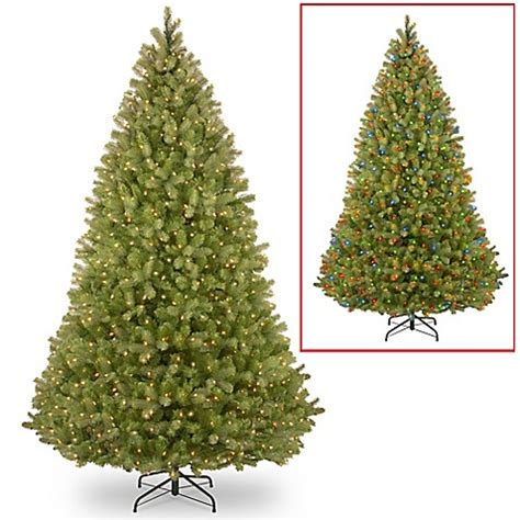 9 foot christmas tree with power pole buy national tree co 9 foot powerconnect bayberry 174 spruce pre lit tree from bed bath