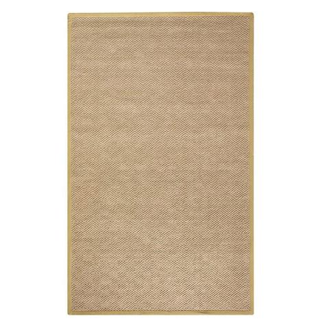Home Decorators Collection Diamond Jute Dark Natural 8 Ft 8 Ft Rug