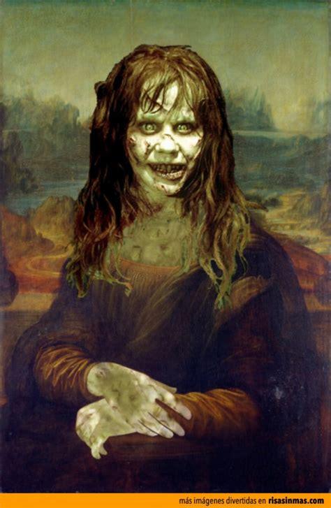 imagenes ocultas de la gioconda im 225 genes divertidas de el exorcista