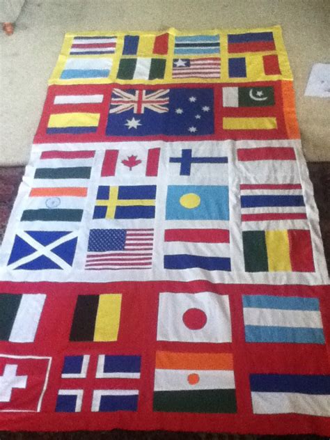 Flags Of The World Quilt | making world flags quilt flag quilt flags and patchwork