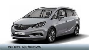 Opel Zafira Tourer 2017 Opel Vauxhall Zafira Tourer Facelift Specs Price
