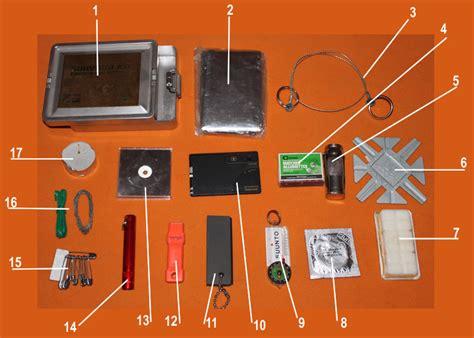 Kit Perlengkapan Cing Survival Kit Lengkap survival kit my home in the