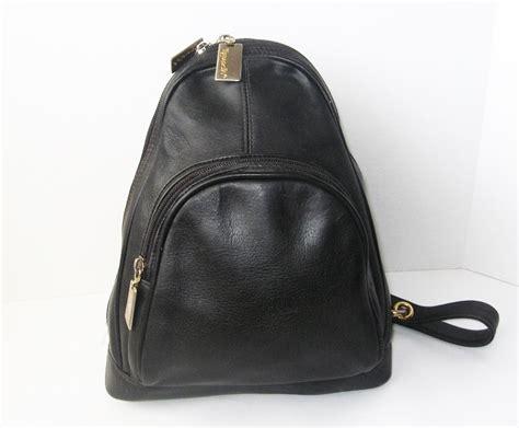 leather backpack purses leather backpack handbag purse bag tignanello black handbags purses