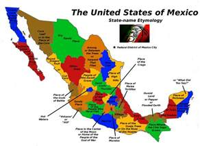 Map Of States Of Mexico by Atlas Of Extinct Nations Failed States