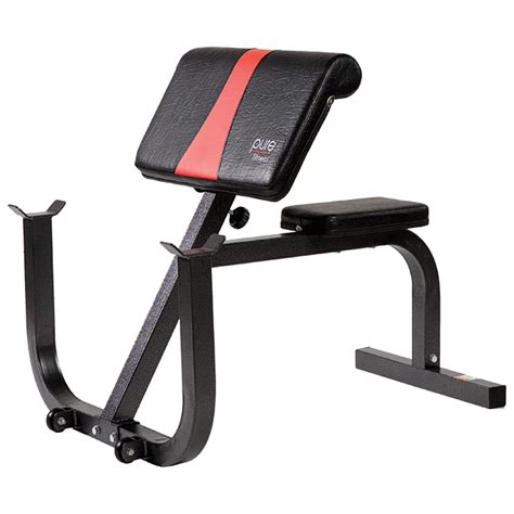 preacher curl no bench pure fitness preacher curl bench 8525pc fitness sports
