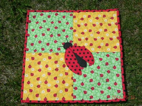 Ladybug Quilt by You To See Bug Doll Quilt By Creativequilter