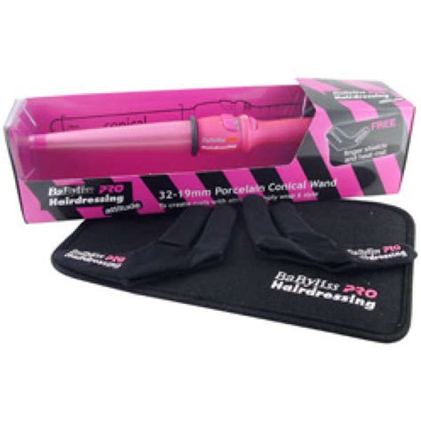 Babyliss Pink Conical Curling Wand by Pink Babyliss Conical Wand