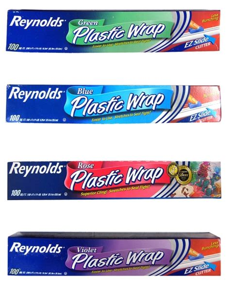 colored saran wrap wholesale 100 sq ft plastic wrap assorted colors