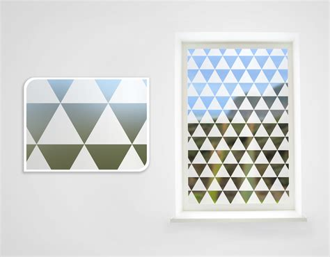 wall stickers nz triangle iii frosted window your decal shop nz