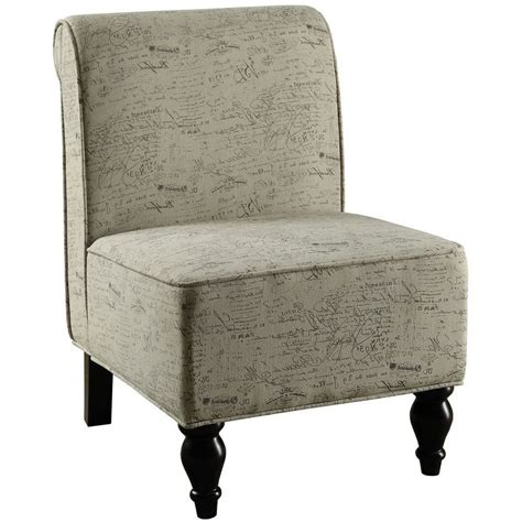 Vintage Accent Chair Vintage Fabric Traditional Accent Chair By Monarch Specialties In Accent Chairs