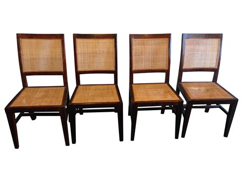 Crate And Barrel Dining Chairs Crate Barrel Dining Chairs Set Of 4 Chairish