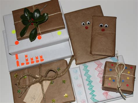 recycled gift wrap ideas a homemade living 6 easy ways to make your own gift wrap inhabitat green