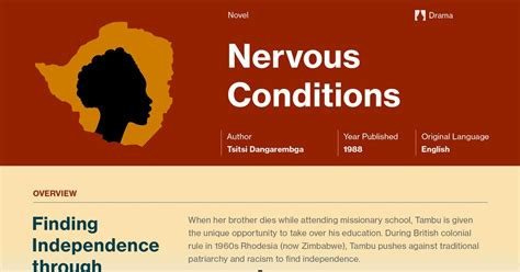 themes in the book nervous conditions nervous conditions symbols course hero