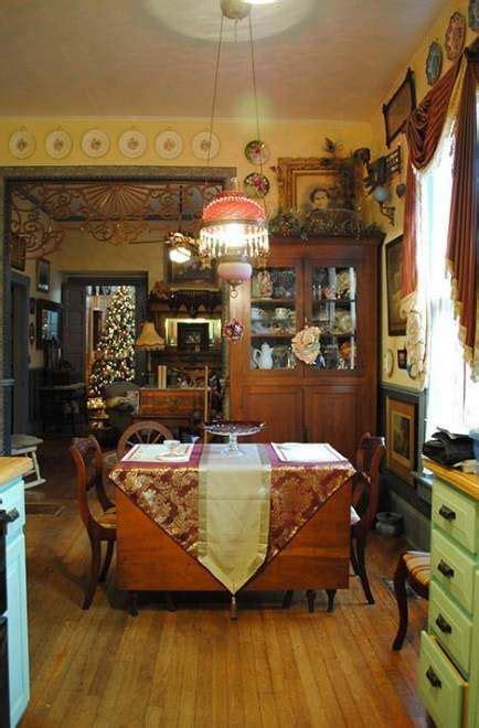 farmhouse victorian decor dining rooms  ideas
