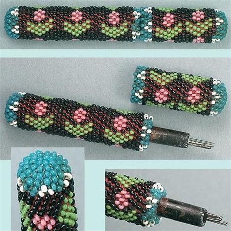 beaded needle cases the 26 best images about beaded needle cases on