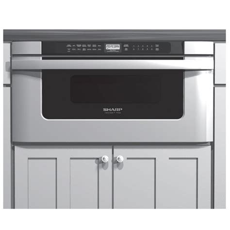Microwave With Oven Drawer by Sharp Kb 6524ps 24 Inch Microwave Drawer Oven