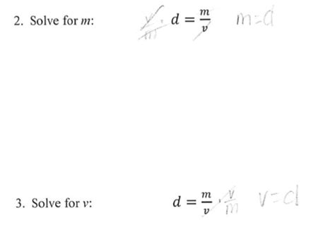 Literal Equations And Formulas Worksheet by Solve Literal Equations Worksheet