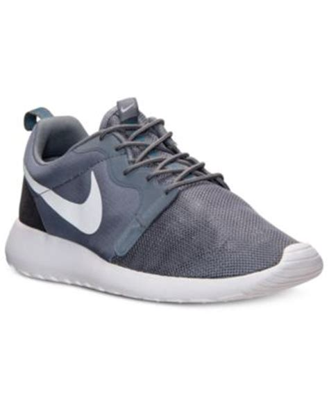 macys mens sneakers nike s shoes rosherun sneakers from finish line