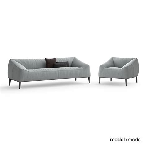carmel sofa poliform carmel sofa 3d model max obj fbx cgtrader com