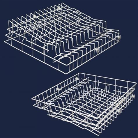 Jenn Air Dishwasher Replacement Racks wpw10139225 jenn air dishwasher rack assembly