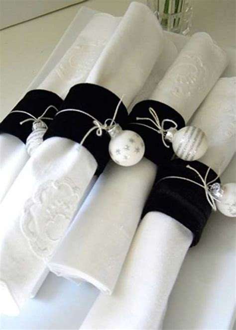 images of christmas napkin rings 27 cute christmas napkin rings to polish the table decor