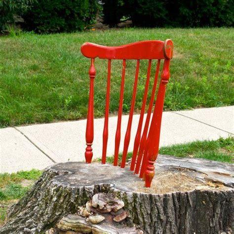 stump chair tree stump chair neatorama