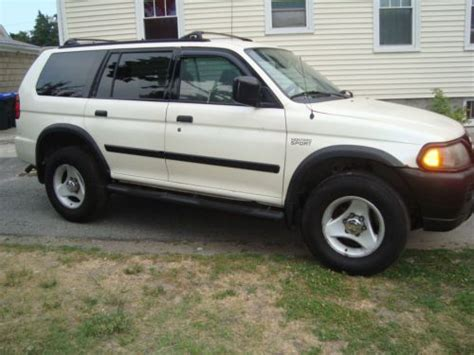 how does cars work 2000 mitsubishi montero lane departure warning purchase used 2000 mitsubishi montero ls sport 4x4 3 5 liter v6 engine with 123775 miles nice in