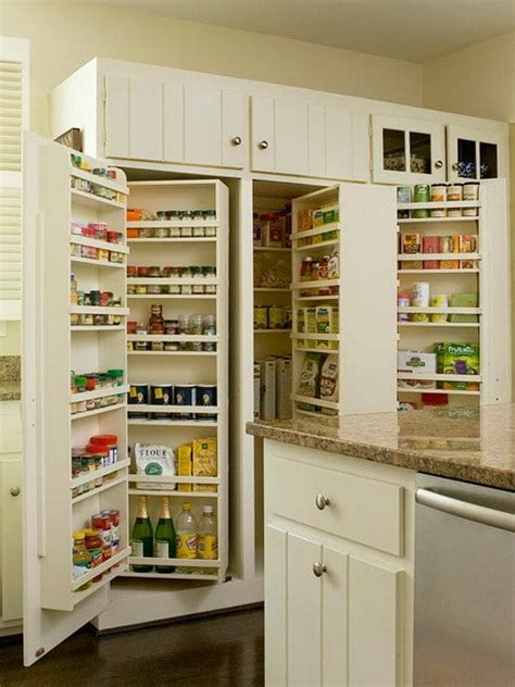 kitchen pantry cabinet design ideas 31 kitchen pantry organization ideas storage solutions