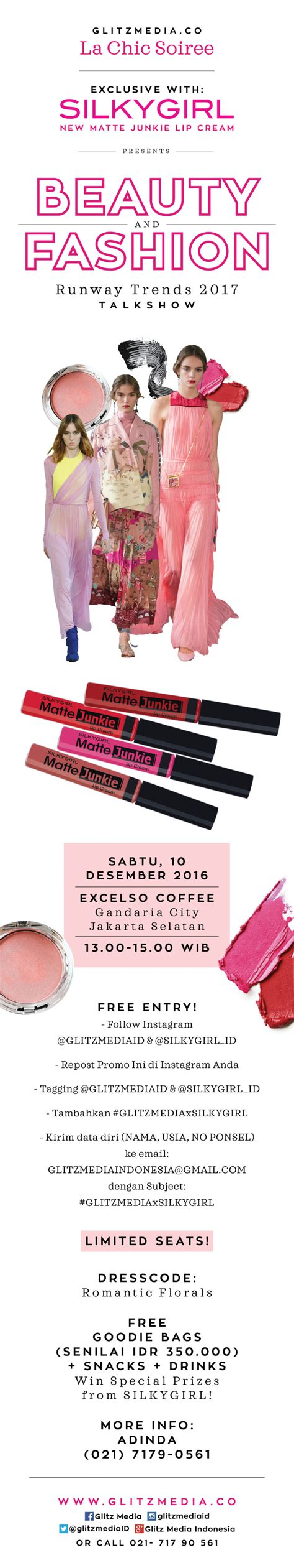 Silkygirl Matte Junkie Indonesia bye touch ups silkygirl matte junkie lip rahasia