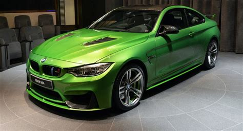 green bmw m4 540hp java green bmw m4 individual drops by abu dhabi