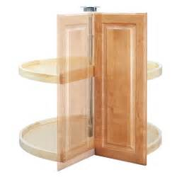 Pie cut lazy susan for 33 quot corner base cabinets wood 4wls942 2433