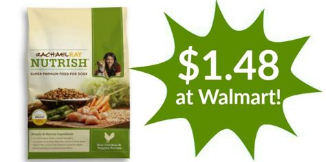 rachael puppy food walmart walmart rachael nutrish food only 1 48 become a coupon