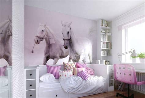 motif chambre fille deco chambre fille theme cheval visuel 7