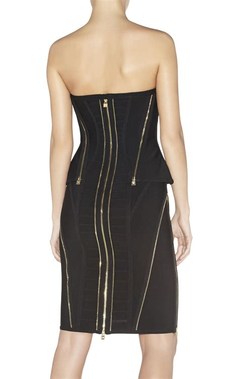 xandra zipper detailed dress