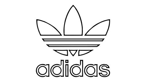 how to draw the adidas logo symbol emblem youtube