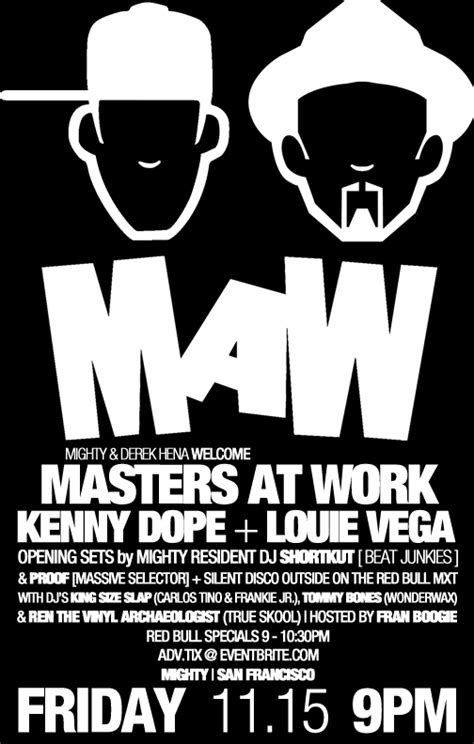 four7 luke m area code remix not sold out tix door at 9pm masters at work w louie