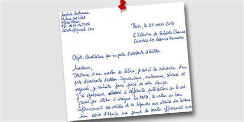 Lettre De Présentation Pour Offrir Ses Services La Lettre De Motivation Est Encore Utile L Etudiant